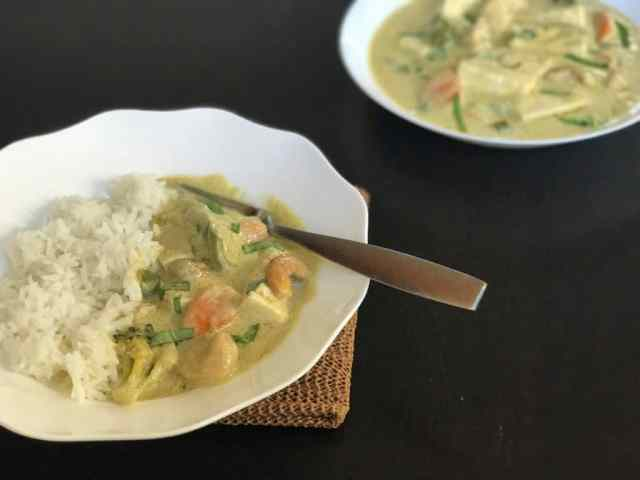 Vegan Thai Green Curry with Tofu - Instant Pot / Pressure ...