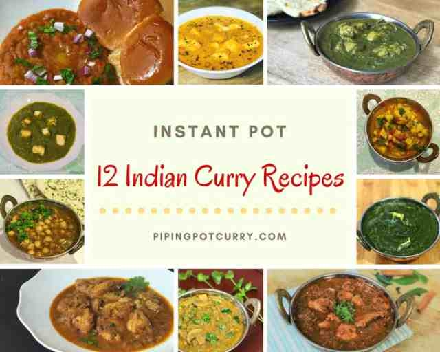 12 Indian Curry Instant Pot Recipes 1