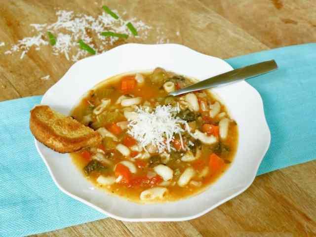 Minestrone Soup Instant Pot Pressure Cooker