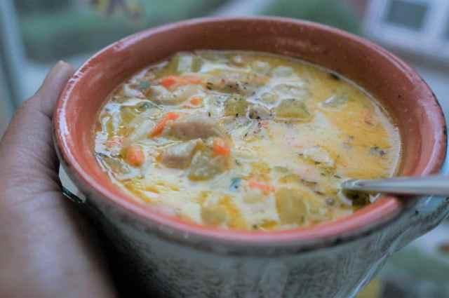 Lemon Chicken Orzo Soup Instant Pot Pressure Cooker