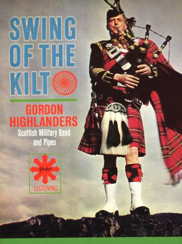Swing of the Kilt LP Gordon Highlanders005