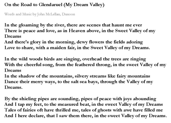 Dream Valley words-2