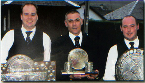 Cowal Champions 2010….all the trophies
