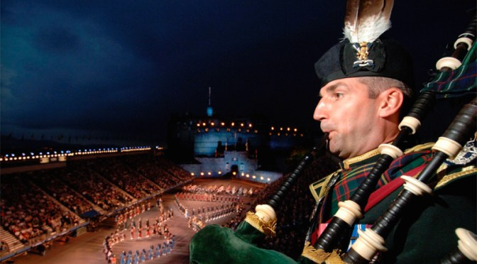 Pipe Bands Australia Receive Cash Gift from Edinburgh Military Tattoo