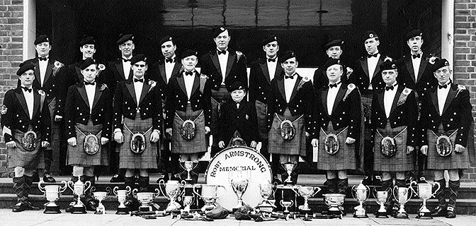 'Big' Donald MacLean and Arm Swapping and Harry's Father's Pipes