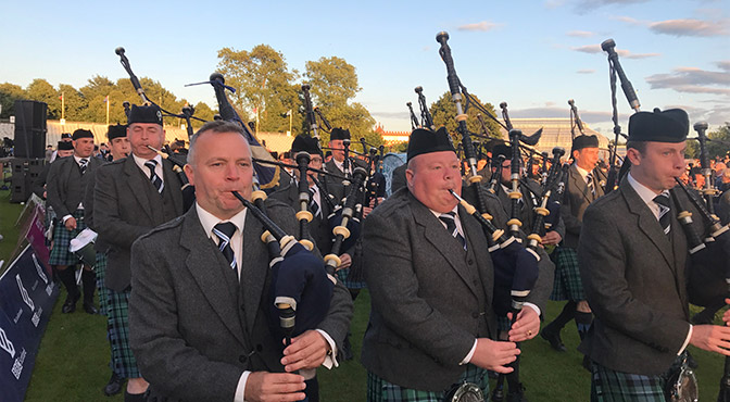 P/M Stuart Liddell and Inveraray's Great Win at the 2017 Worlds