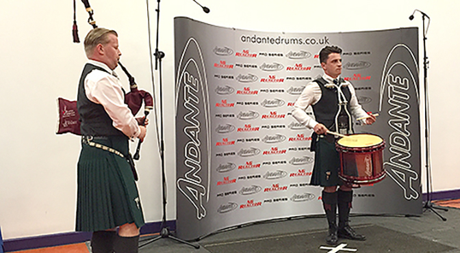 World Solo Drumming Preview and New Events at Balmoral Classic