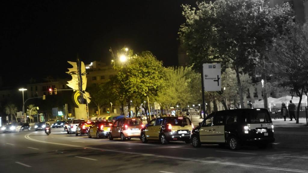 Barcelona at night