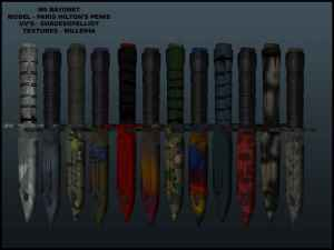 CS 1.6 z0bx / the eye of horus - weapon skins pack