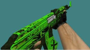 counter strike 1.6 ak47 skin apocalypse