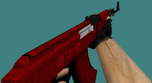 CS 1.6 skin pack (knife, deagle, ak47, m4a1, awp) Crimson set by Brothers