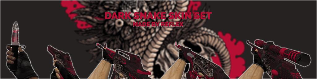 cs 1.6 weapons pack skins dark snake