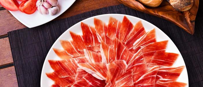 Schweinefleisch Jamon zu Hause