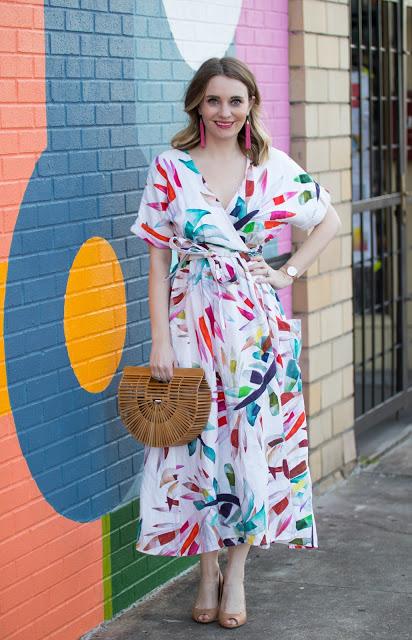 colorful-mara-hoffman-wrap-dress-cult-gaia-bag