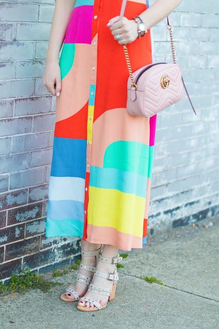mara-hoffman-colorblock-tie-dress
