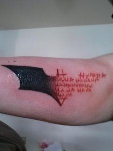 tattoo batman coringa joker