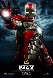 iron man 2 silver red