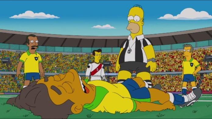 simpsons You Don't Have to Live Like a Referee