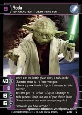 star warsTCG_card_yoda