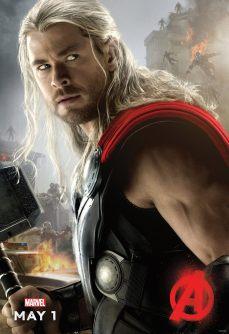 PIPOCA COM BACON - #PipocaComBacon O Que Vi do Filme: Vingadores – A Era de Ultron - Avengers-Age-of-Ultron-Poster-Thor
