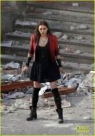 PIPOCA COM BACON - #PipocaComBacon O Que Vi do Filme: Vingadores – A Era de Ultron - Set_The Avangers Elizabeth Olsen come Scarlet Witch.