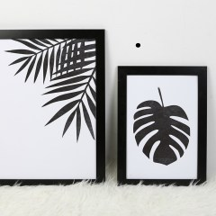 print descargable a3 para lamina bolso tela o camiseta pipolart botanical palmera costilla de adan