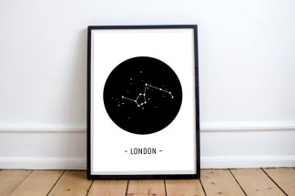 mapa-monumentos-londres-constelacion-minimal-blanco-y-negro-lamina-a3-pipolart-pipol-art-london