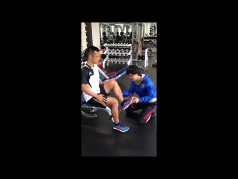 大腰筋トレーニング