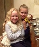 Pippa, Claudia & Monkey Junior in Lygon St last week