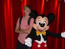 Mickey sizing up James