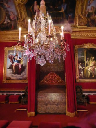 King Louis XIV's ceremonious bedroom