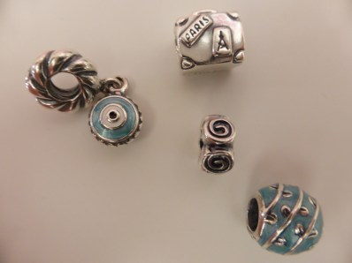 My Pandora Charms from Paris and Greece