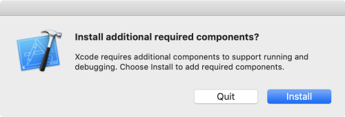 Install additional required components