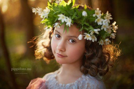 barnefotografering utendørs