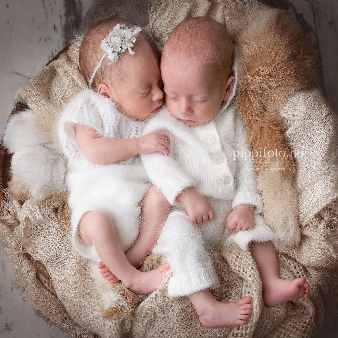 nyfødtfotografering-tvillinger-oslo