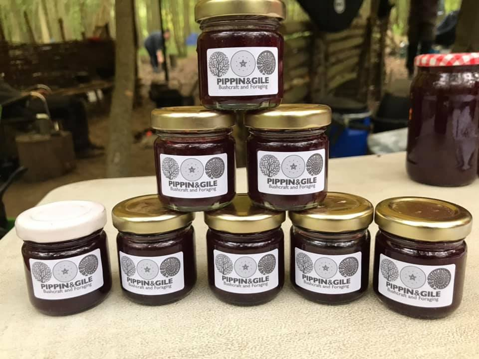 The Final Product - Foraging - Preserves - Bushcraft - Pippin & Gile