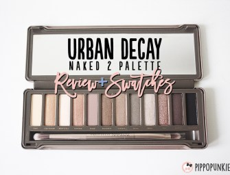 Review & Swatches: Urban Decay Naked 2 Palette