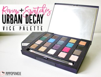 Review & Swatches: Urban Decay Vice Palette