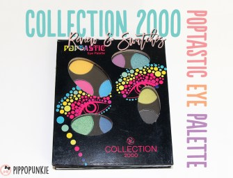Review & Swatches: Collection 2000 Poptastic Eye Palette