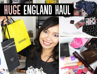 Haul & Swatches: แกะถุงช็อปจากอังกฤษ Boohoo, Selfridges, Space.NK, Boots และอื่นๆ อีกเพียบ!
