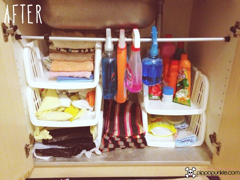 How to organize messy kitchen cabinets & drawers