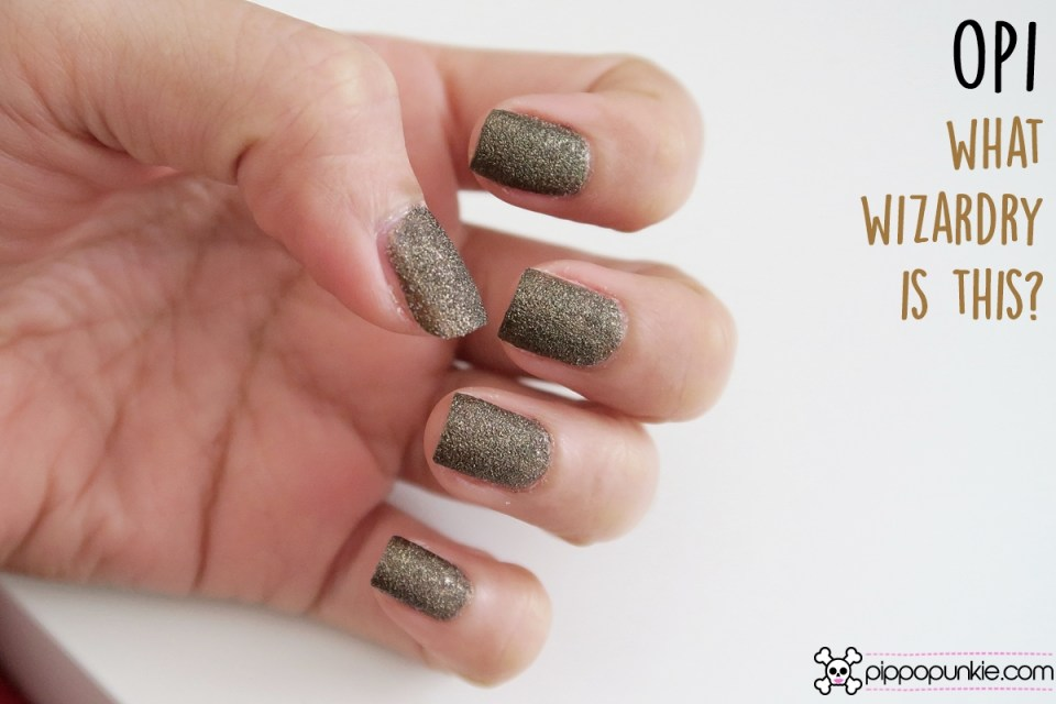 OPI - What Wizardry Is This? Review & Swathes