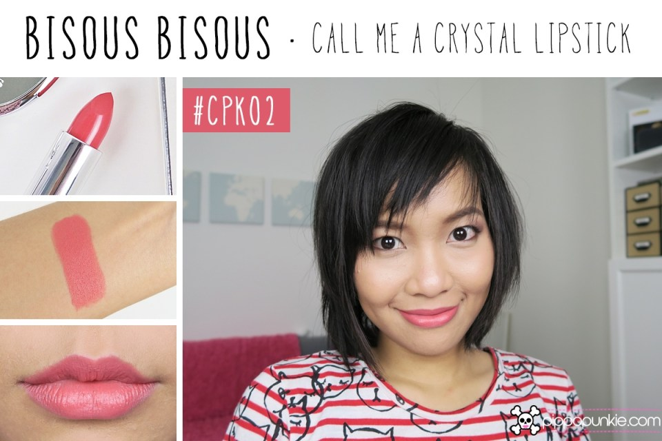 Bisous Bisous Call Me a Crystal Lipstick สี CPK02