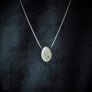 ovaline bijou en ivoire de mammouth made in france
