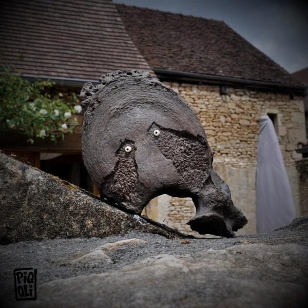 Esprit Guerrier Os de mammouth mammoth ivory carving art