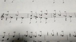 ギターの右手の記号p-i-m-a