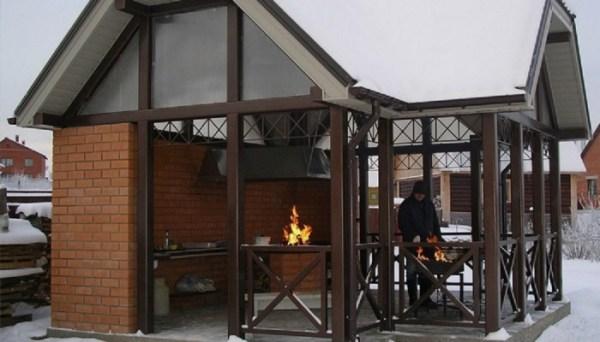 Дизайн зоны барбекю в частном доме – проекты, фото, как ...