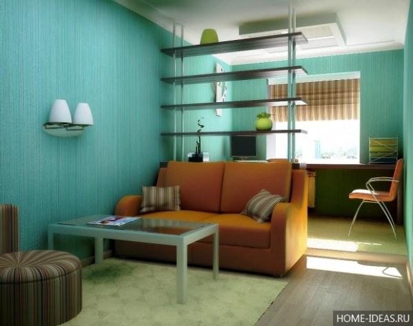 Двухзонная комната: Как разделить комнату на две зоны – 12 ...