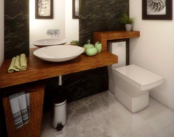 Фото дизайн отделка туалета – идеи оформления интерьера ...