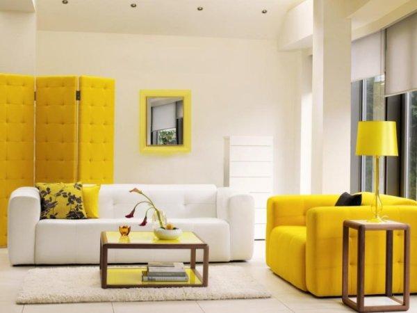 Желтые обои в спальне фото – какие шторы подойдут к нежным ...